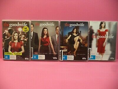 The Good Wife The Complete Seasons 1-4 Dvd