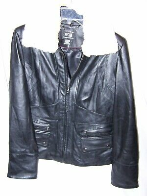 580e0f7348b78 A.N.A.   JC Penney Brand Faux Leather Jacket Size Medium -  10.00 ...