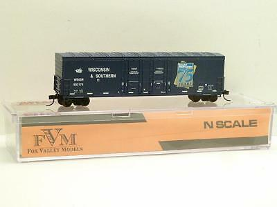 Atlas / FVM Wisconsin Southern Model Railroader Celebrating 75 Years 50' Box Car