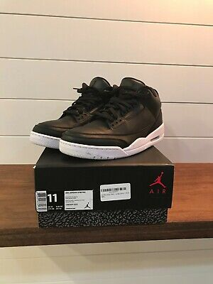 b59f18474 Mens Nike Air Jordan 3 Retro Cyber Monday Size 11 Black Great Condition