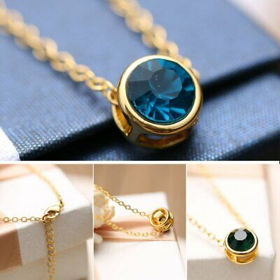 Crystal Necklace Invisible Line Zircon Clavicle Chain Women Jewelry
