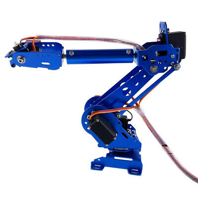 NEW 6 DOF Mechanical Robot Arm Clamp Claw DIY Kit Manipulator for Robotics