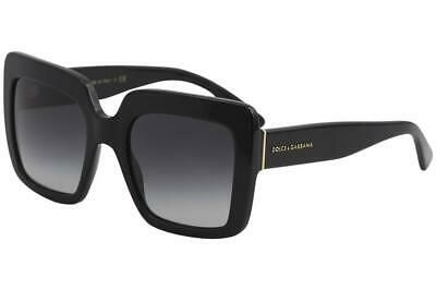 a87fc12104a Dolce   Gabbana Women s D G DG4310 DG 4310 501 8G Black Square Sunglasses  52mm