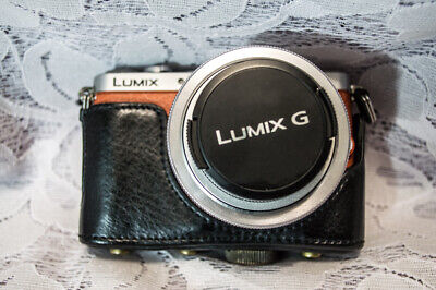 Panasonic LUMIX DMC-GM1 16.0 MP Mirrorless Digital Touchscreen Camera - Orange