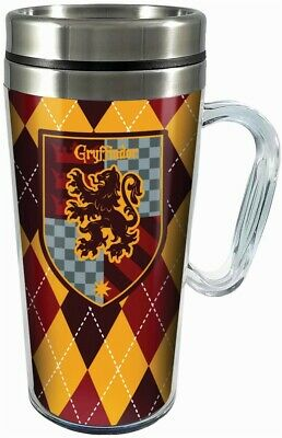Harry Potter Gryffindor 14 oz Double Walled Insulated Travel Tumbler