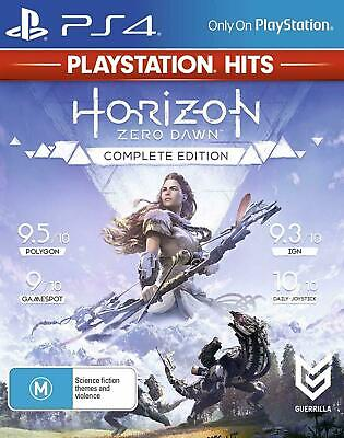 Horizon Zero Dawn Complete Edition PS4 Playstation 4 Brand New Sealed