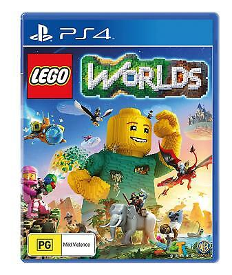 LEGO Worlds PS4 Playstation 4 Brand New Sealed