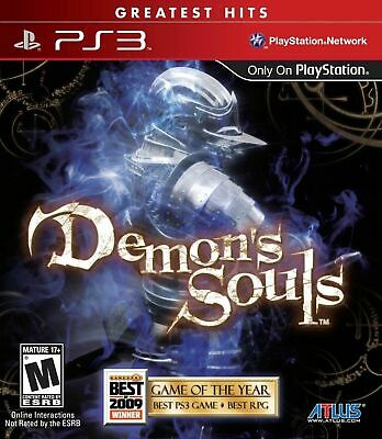 Demon's Souls PS3 Playstation 3 Brand New Sealed