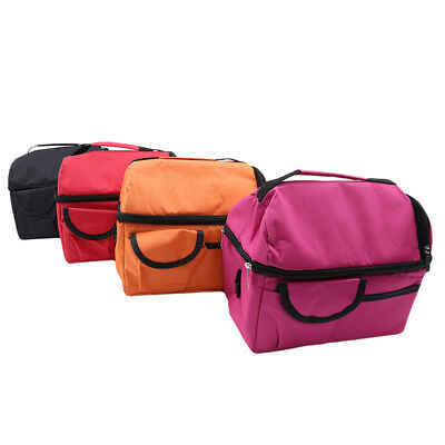 Insulated Lunch Box for Women Men Thermal Cooler Tote Food Lunch Storage Bag LG