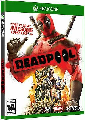 Deadpool Xbox One Brand New Sealed