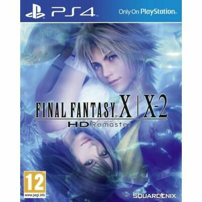Final Fantasy X/X2 HD Remaster Playstation 4 (PS4) Brand New Sealed