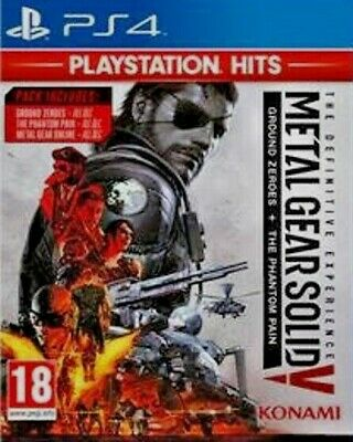 Metal Gear Solid V The Phantom Pain Definitive Experience PS4 Playstation 4 NeW