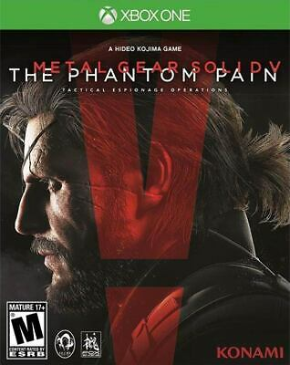 Metal Gear Solid V 5 The Phantom Pain Xbox One Brand New Sealed