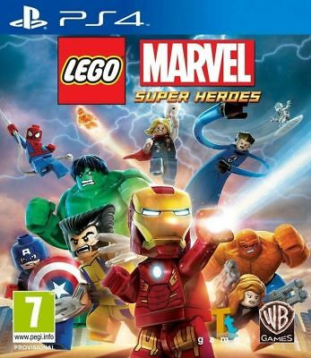 Lego Marvel Super Heroes PS4 Playstation 4 Brand New  Sealed