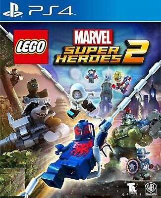LEGO Marvel Super Heroes 2 - Playstation 4 (PS4) Brand New Sealed