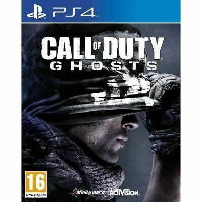 Call of Duty Ghosts PS4 Playstation 4 Game Brand New Sealed