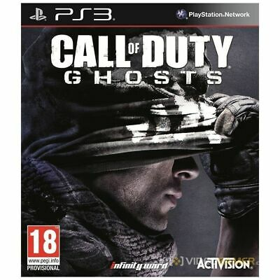 Call of Duty Ghosts PS3 Playstation 3 Brand New Sealed