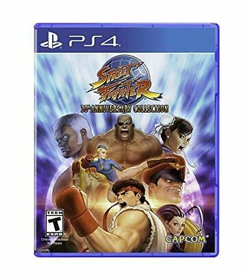 Street Fighter 30th Anniversary Collection 5 PS4 Playstation 4 Brand New Sealed