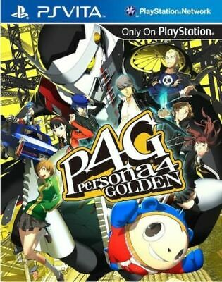 Persona 4 Golden PS Vita Game Brand New Sealed