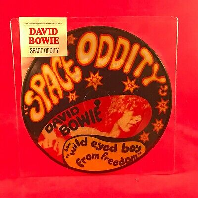 """DAVID BOWIE Space Oddity 2015 UK 7"""" Vinyl Picture Disc single BRAND NEW"""