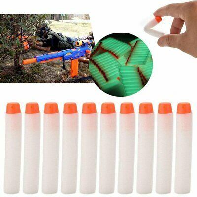 10-100Pcs Gun Soft Refill Bullets Darts Round Head Blasters For Nerf N-Stri Ukac