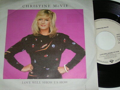 "Christine McVie (Fleetwood Mac) Love will Show us how (1984 German 7"") 6174"