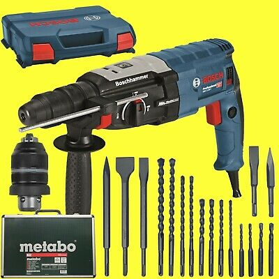 bbb22e59c59 beautiful bosch hammer gbh f lcase metabo drill bit and meisel with sds max  meiel