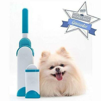 Double Sided Cleaner Tool Self-Cleaning Base Pet Fur Remover Hair Lint