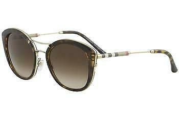 9262979dc8d0 Burberry Women s BE4251Q BE 4251 Q 300213 Dark Havana Round Sunglasses 53mm