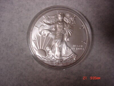2010 Silver American Eagle One (1) Troy Ounce .999 Fine Silver One Dollar Coin