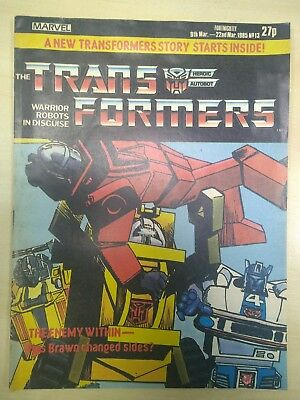 Marvel Comics - Transformers UK - Issue 13 March 1985