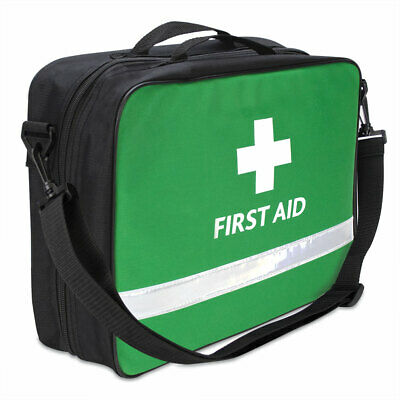 Paris Deluxe First Aid Kit Bag *EMPTY* - Removable Multi Coloured Pouches