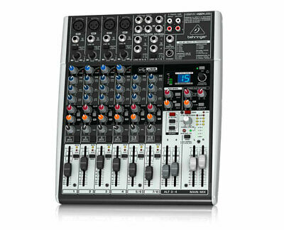 Behringer XENYX X1204 12-Input 2/2-Bus Mixer with USB Audio Interface
