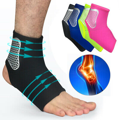 Sport Ankle Support Compression Strap Achilles Tendon Brace Heel Sprain Protect