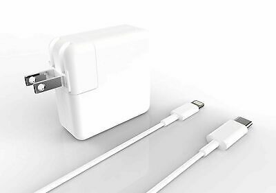 29W USB Power Wall Fast Charger Lightning Cable for Apple iPad 2/3/4/Air/Pro