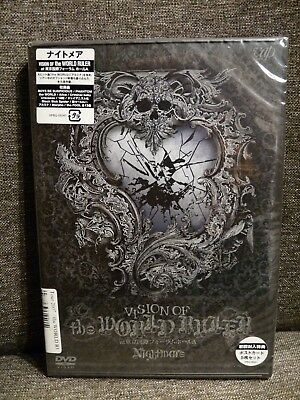 Rare DVD du groupe NIGHTMARE - Vision of the world ruler