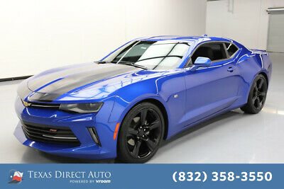 2018 Chevrolet Camaro LT Texas Direct Auto 2018 LT Used 3.6L V6 Automatic RWD Coupe Bose OnStar Premium