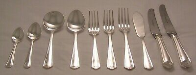 CHESTER Design NEWBRIDGE EPNS A1 Silver Service Cutlery 10 Piece Place Setting