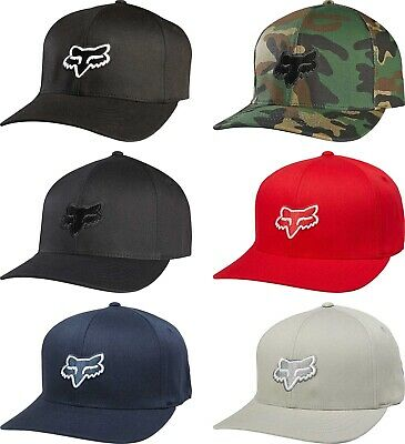 2286ece4f02cc7 FOX RACING LEGACY Flexfit Hat - Adult Mens Guys Lid Cap - $26.50 ...
