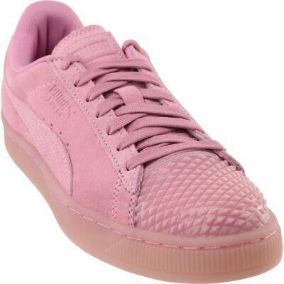 08473a155cdf PUMA WOMEN S PINK Suede Classic Croc Emboss Wn s Fashion Sneaker ...