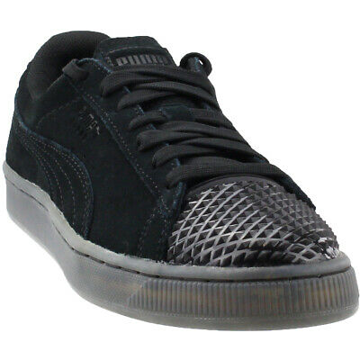 7d5ca08be968 PUMA SUEDE JELLY Womens Trainers Lace Up Shoes Grey Leather 365859 ...