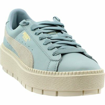d772df8b1eb PUMA BASKET PLATFORM Trace Block Sneakers - Blue - Womens -  39.99 ...