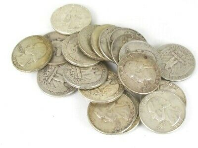 Collectible United States Silver Washington Quarter Coin Lot of 20