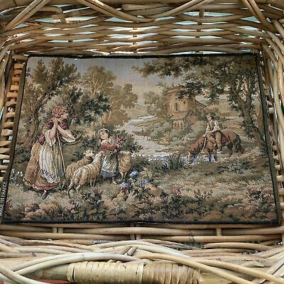 Two Vintage French Tapestries