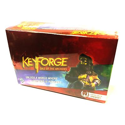 KeyForge Call of the Archons Deck Display Box (12) Decks In-Stock, Ships FREE!