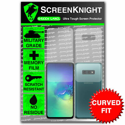 ScreenKnight Samsung Galaxy S10E FULL BODY SCREEN PROTECTOR - CURVED FIT