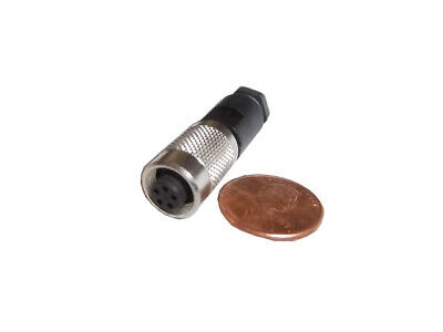 Binder 99-0414-00-05, series 712, 5 pin, female, subminiature connector