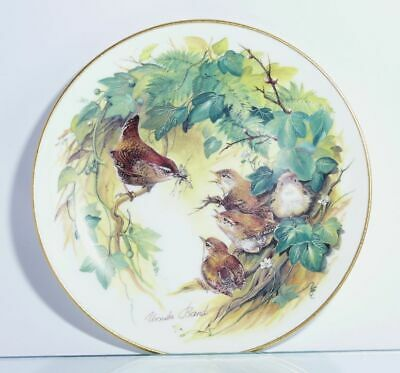 Collection Plate Hutschenreuther Bird Small Wrens in Leaf with Certificate Boxed