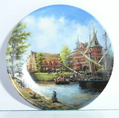 Collection Plate Vohenstrauss Johann Seltmann the Holsten Town Gates Boxed