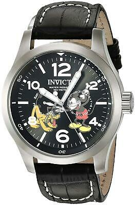 Invicta Disney Limited Edition 22873 Men's Black Dial Multi-Function Watch 48mm